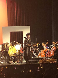 picture of students in concert