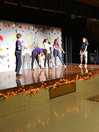 picture of students perform drama