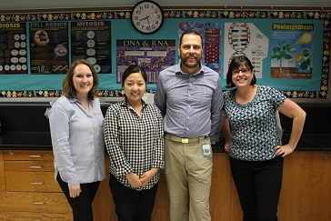 picture of endeavor team teachers